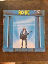 Disco de vinil AC DC - Who made who
