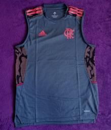 Regata de treino Flamengo cinza (disponível: G e GG)