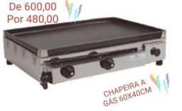 Chapeira A Gás 02 Queimadores 6040 Alsa