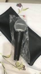 Microfone shure original sm48