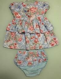 Vestido Dayane Baby 0-3 meses