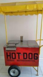 Título do anúncio: Vendo carrinho ambulante de Hot Dog