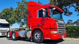 Scania P 360 Trucado 6x2 Automatico Único Dono Lindo 2014