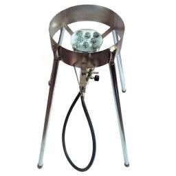 Fogão para Disco de Arado em Aço Cromo Alta Pressão Com Mangueira e Registro