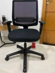 Título do anúncio: Cadeira Uni All black de escritório ou home office