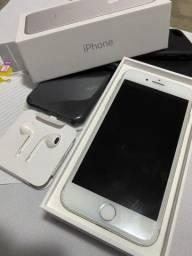 iPhone 7 128gb sem detalhe todos os acessorios