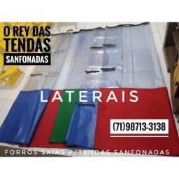 Laterais forros saias para tendas sanfonadas com velcro removível leia o anúncio completo
