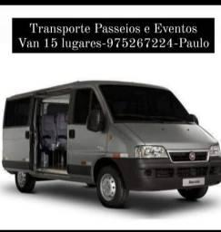 Transporte Passeios e Eventos