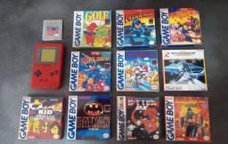 GameBoy Classic com Jogos