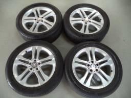 rodas 18 mercedes gla 250 com pneu 235x50 18 continetal 5x112