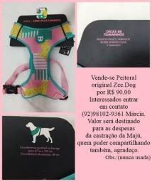 Título do anúncio: Coleira/ Peitoral para pet