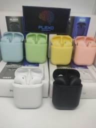 Fone de ouvido Bluetooth i12 - Entrega grátis e garantia