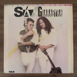 LP Disco De Vinil Sá E Guarabyra - O Paraíso Agora *excelente estado