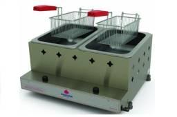 Título do anúncio: Fritadeira 10 Litros Dupla à Gás Progás - PR20G