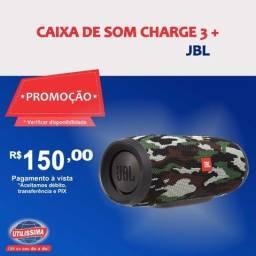 Caixa de Som Portátil Bluetooh Charge 3+  ? Entrega grátis