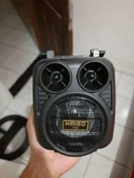 ? PROMOÇÃO ? Caixinha De Som Bluetooth Portátil Altomex Al-1186 Potente
