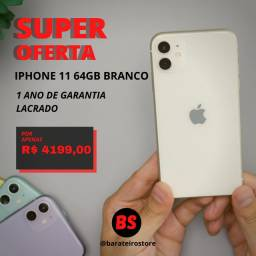 Iphone 11 64gb branco novo e lacrado