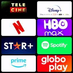 Título do anúncio: globo play tele cine