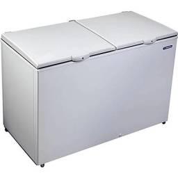 Freezer Horizontal 2 Tampas 419 L Dupla Ação DA420 Branco