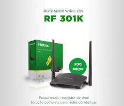 Roteador Wireless N 300MBPs Intelbrás RF 301K - Loja Dado Digital