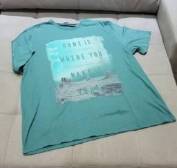 02 camisetas de malha tam. G
