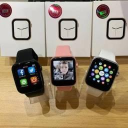 Título do anúncio: Smartwatch X8 faz e recebi ligações relógio inteligente