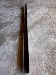 Formas metálicas para confecção de palanques