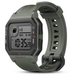 Relógio Smartwatch Amazfit Neo Global Xiaomi Retro Lançamento 2020