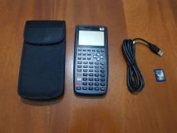 Título do anúncio: Calculadora HP 50g + Estojo, cabo e cartão de memória 1 GB
