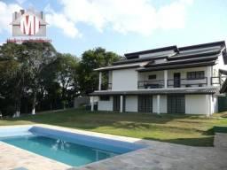 Casa de campo dos sonhos - 04 suítes, área gourmet, piscina, bairro tranquilo e povoado
