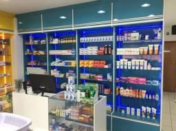 Vende-se Móveis novos de farmácia, podem ser usados em perfumaria e outros