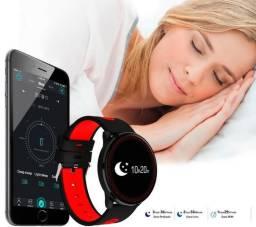 Relógio Smartwatch Cf007 Pressão Sanguinia E Nível Oxigênio