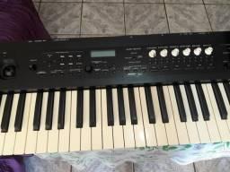 Sintetizador korg ps 60/placa de áudio Maudio