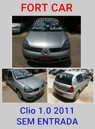 Clio hatch 1.0 Completo - 2011