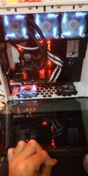 Computador gamer i7 7700k 16 gb ram e gtx 1070