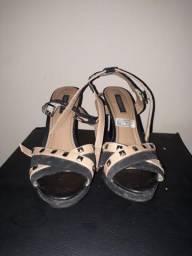 Vendo sandália salto agulha Tam 35