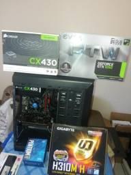 PC gamer gtx 1050 Intel pentium g5400 8gb ddr4 novo