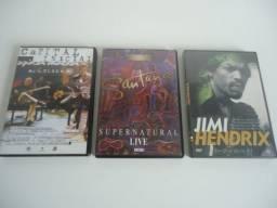 DVDs - 3 títulos - 10 reais - unidade