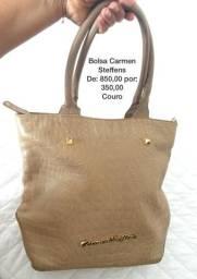 Bolsas e cintos de couro