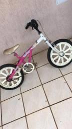 Bicicleta Aro 16 Caloi feminina