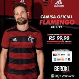 Camisa Oficial Flamengo 2018/19