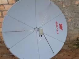 Vendo antena skay nova único dono