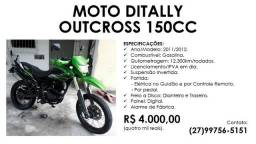 Moto Ditally Outcross 150cc - 2011