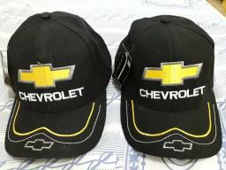 Boné da Chevrolet todo bordado