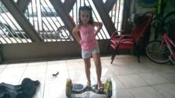 """Patinete skate elétrico Hover Board 10"""" polegadas"""