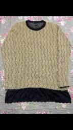 Blusão de lã feminino