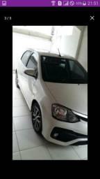 Toyota Etios platinum 1.5 - 2017