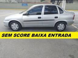 Gm corsa sedan financiamento sem score e baixa entrada - 2005