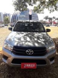 Hilux 4x4 diesel std IPVA 2020 pago - 2018
