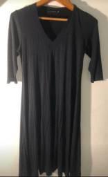 Vestido pretinho básico de malha da Basic Collection tamanho M